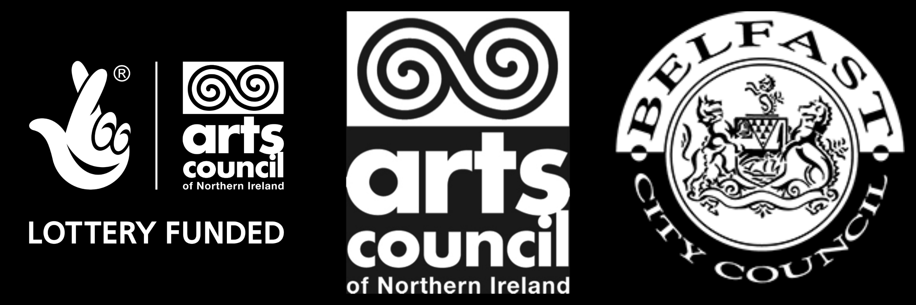 Arts Council of Northern Ireland, Belfast City Council and The Lottery Fund