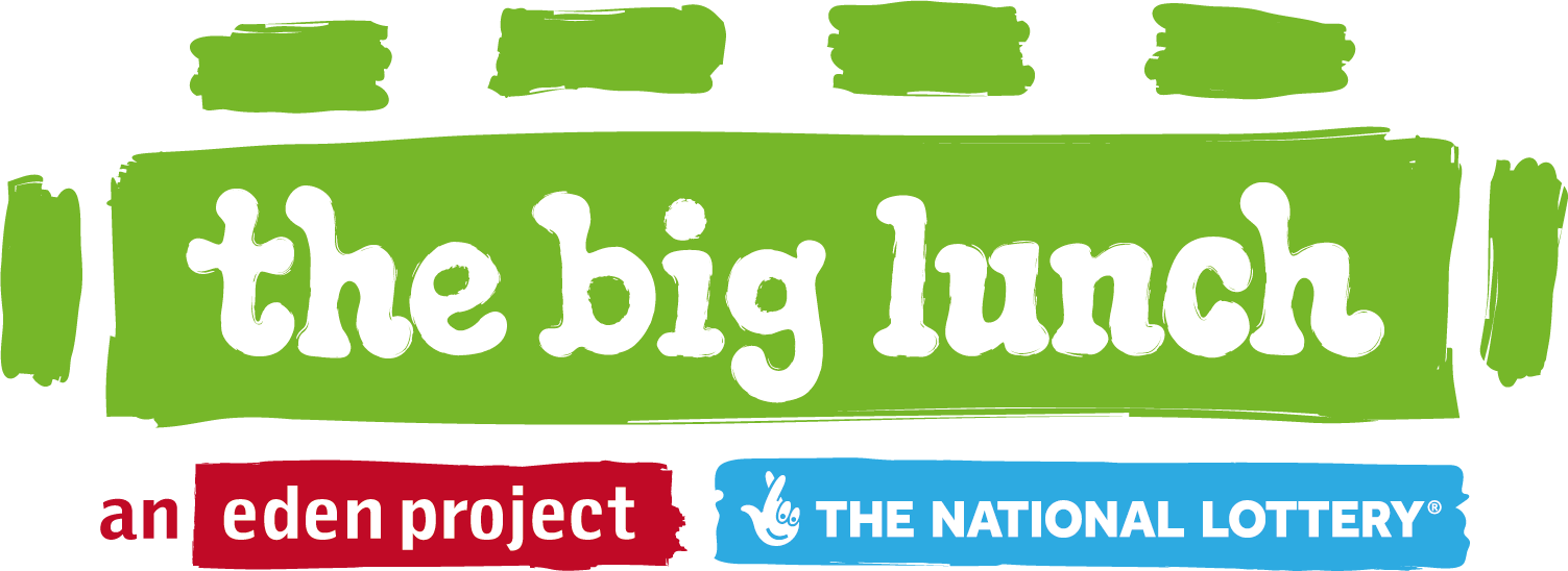the big lunch an eden project made possible by the National Lottery logo