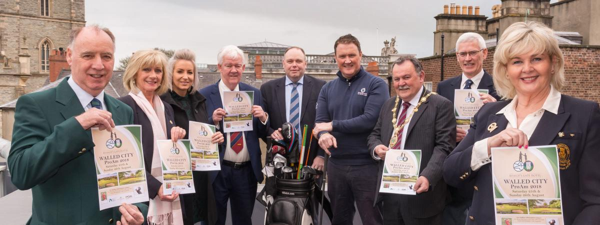Bishop's Gate Hotel Walled City of Derry Pro Am tournament.