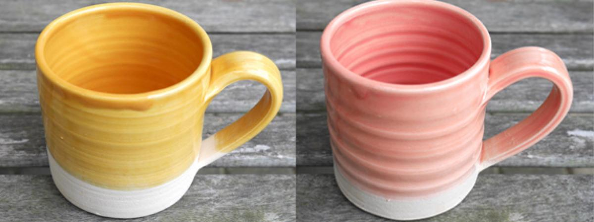 Loaf Pottery ceramic mug collection