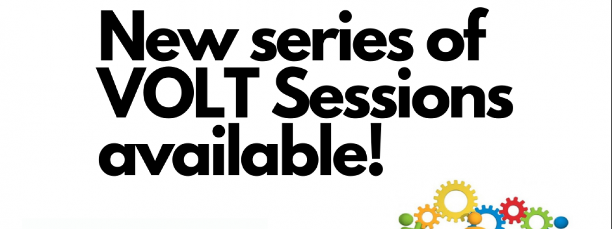 New Series of VOLT Sessions available!