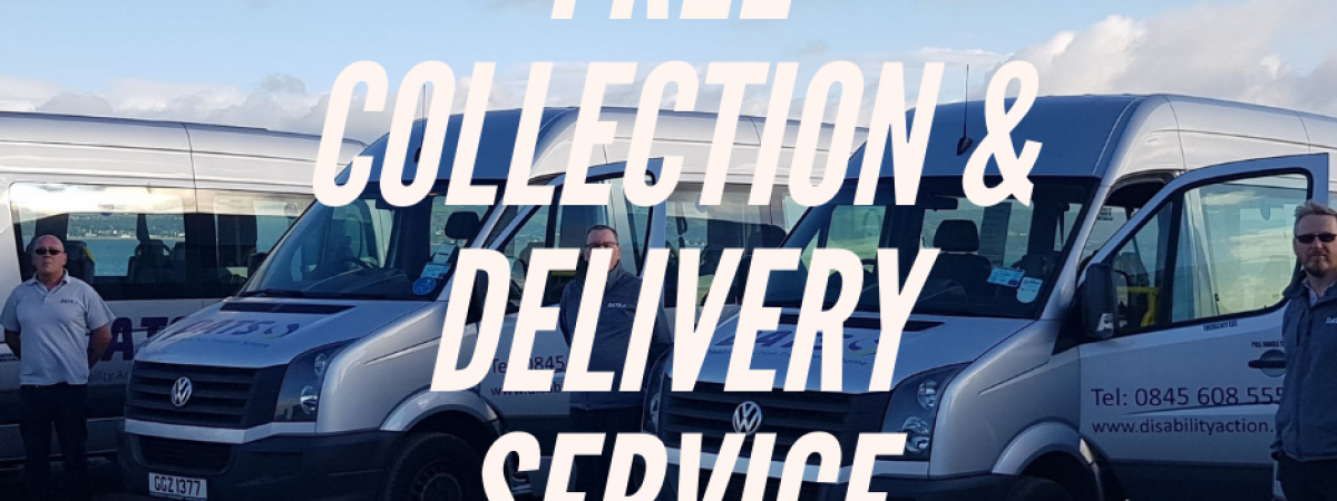 DATS Collection & Delivery service. Photo of DATS buses