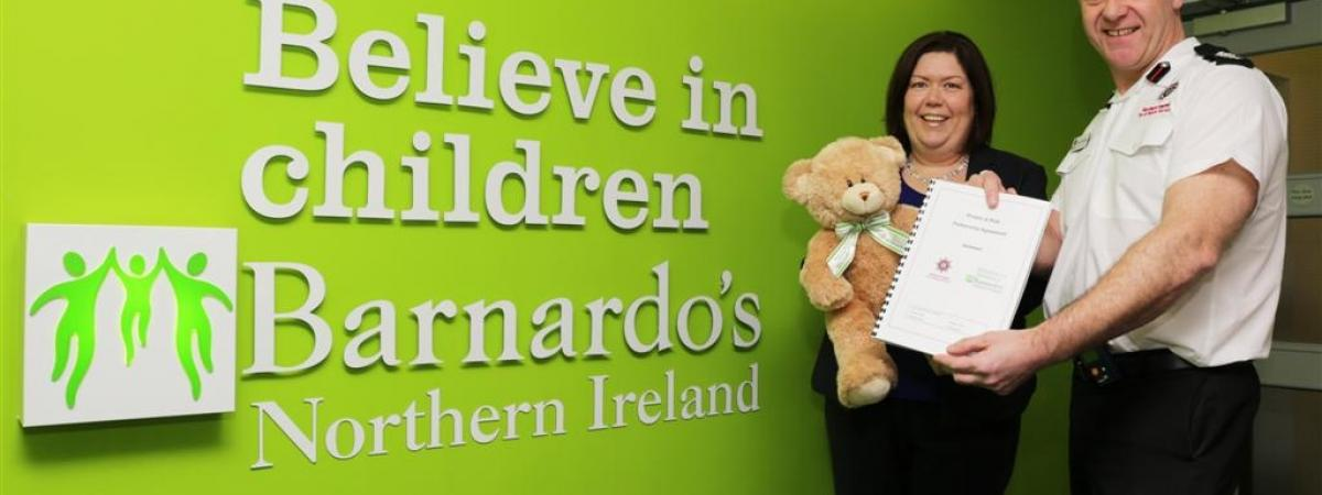 NIFRS and Barnardo's NI Working Together to 'STOP Fire'