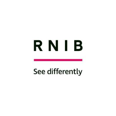 rnib logo - see differently