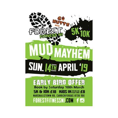 Go nuts @Forest Fitness NI Mudmayhem Event