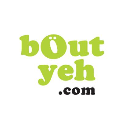 Logo for Bout Yeh, an online magazine and photographers and videographers in Belfast