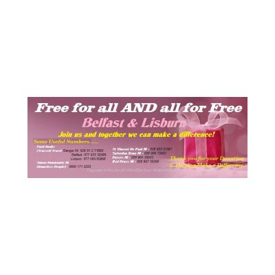 Free for all AND all for Free - Belfast & Lisburn