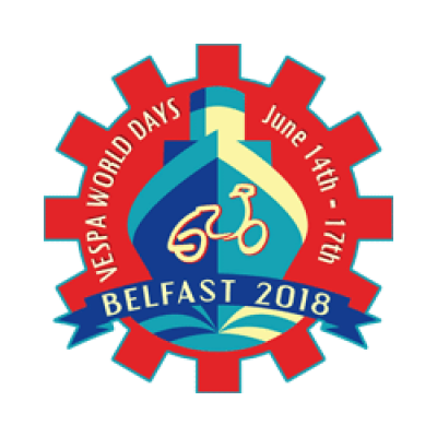 Vespa World Days Belfast 2018