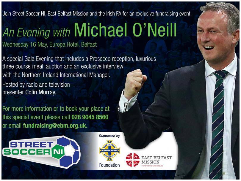 An Evening with Michael O'Neill