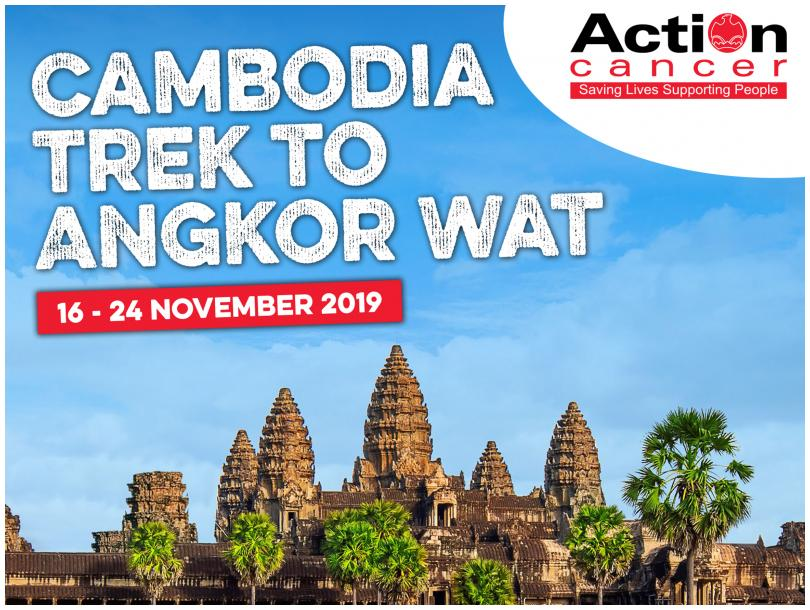 Action Cancer's Cambodia Trek to Angkor Wat 2019