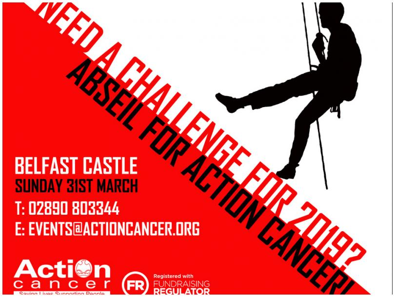 Abseil for Action Cancer