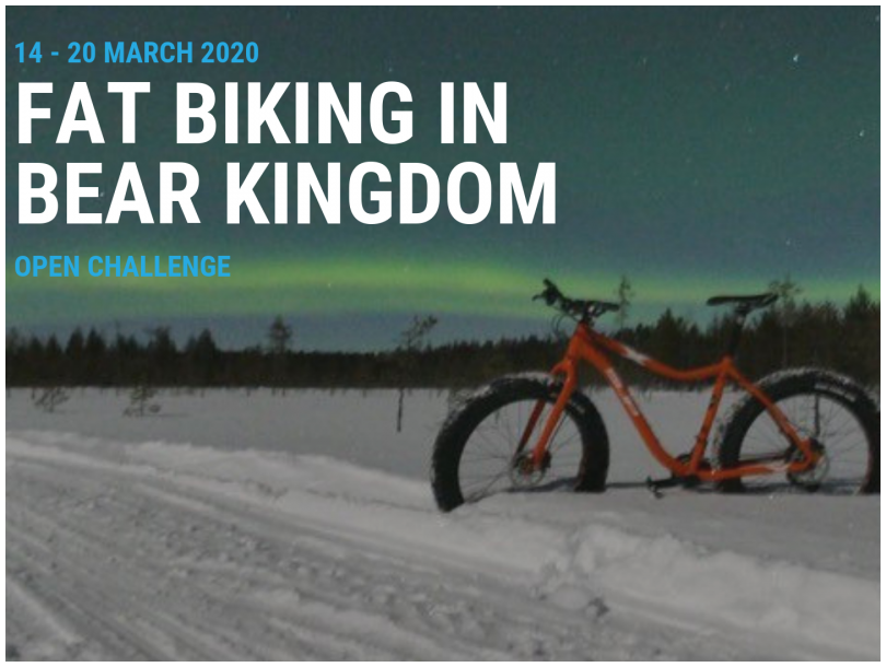 Action Cancer Fat Biking In Bear Kingdom Open Challenge Image