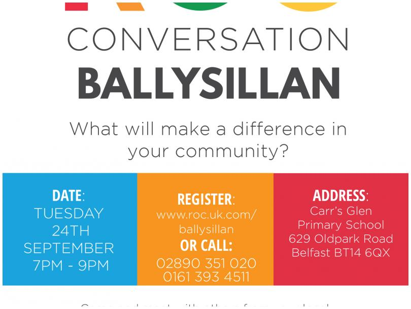 RSVP your FREE place at www.roc.uk.com/ballysillan