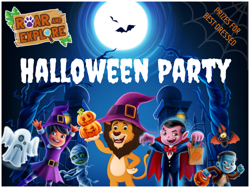Roar and Explore Halloween Party