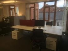 Desks for rent in Holywell DiverseCity Community Partnership