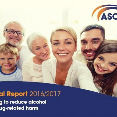 ASCERT annual report 2016/17 front cover