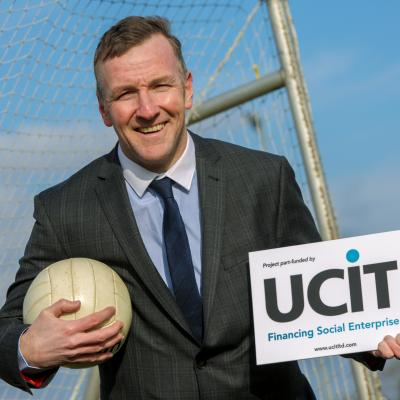 Phelim Sharvin 'kicks-off' UCIT's £4m Sports Fund