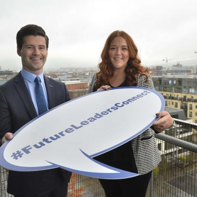 MLA Jonathan Buckley and NIACRO's Katherine McCloskey, who both took part in the programme last year