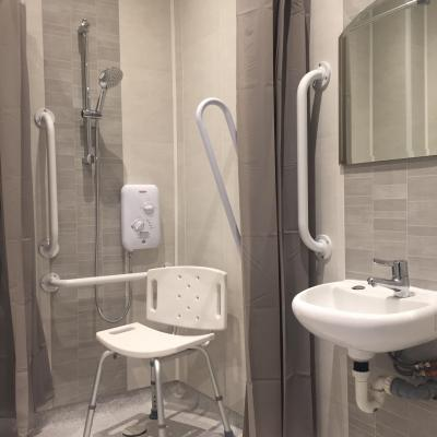 Newly refurbished toilet and shower facilities opened at Autonomie's new centre Lilac House (Linked Independent Living and Advice Centre) in South Belfast.