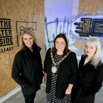 Open House Festival Programme Launch at The Waterside, Belfast
