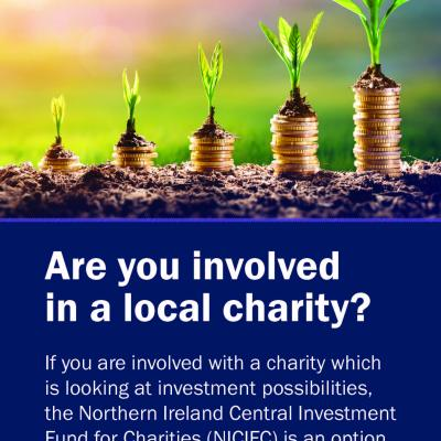 Are you involved in a local charity which is looking at investment possibilities?