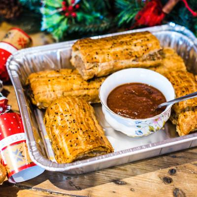 Loaf Catering Christmas Catering - Award Winning Sausage Rolls