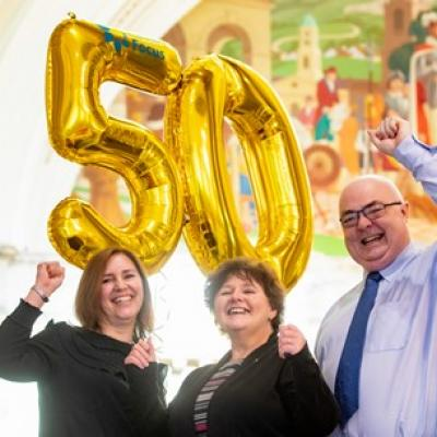 Cancer Focus NI, the first ever cancer charity in Northern Ireland, marks 50 years