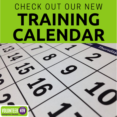 New Training Calendar