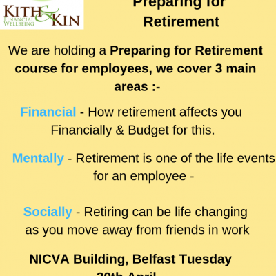 Preparing for Retirement Course