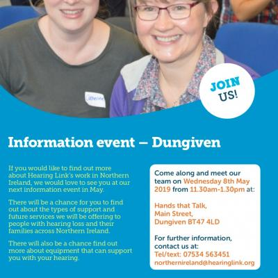 Hearing Link Information Event