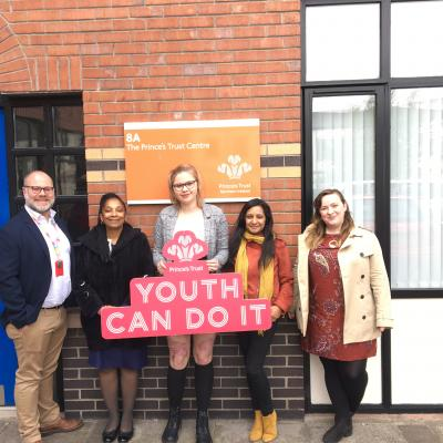The Prince's Trust UK2030 Taskforce visits Belfast