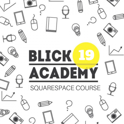 Blick Academy Squarespace Course