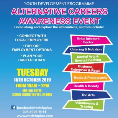 Work4UPlus2 Alternative Careers Awareness Event