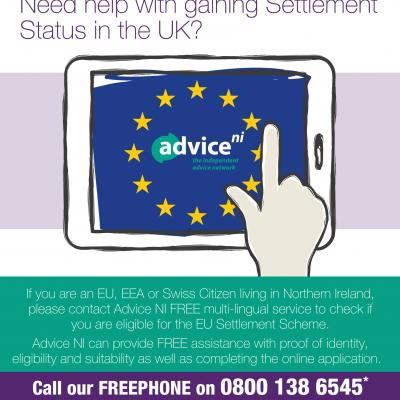Advice NI EUSS FREEPHONE 0800 138 6545