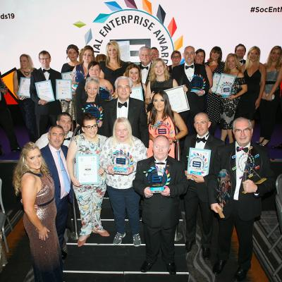Winners of Social Enterprise NI Awards 2019