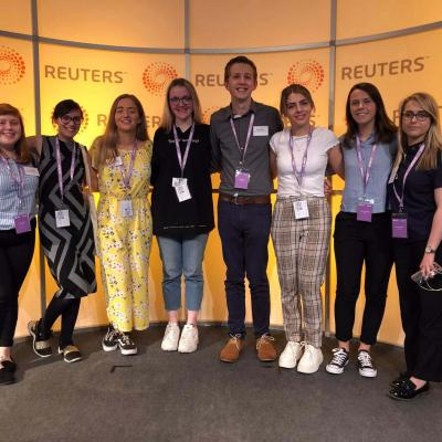 Northern Ireland delegate at 2019's Future News Worldwide conference