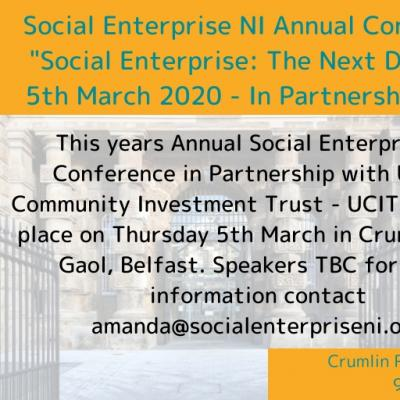 Social Enterprise NI Conference 2020