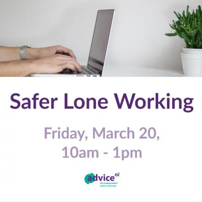 Advice NI Safer Lone Working Training
