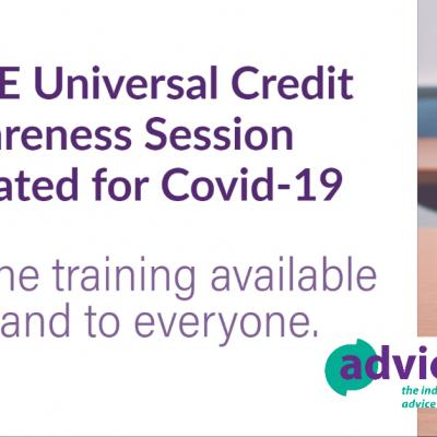 Free Universal Credit Session updated for Covid-19