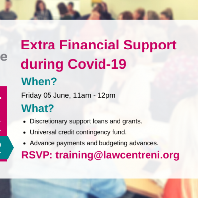 Extra Financial Support during Covid-19