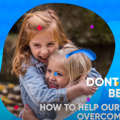 How to help our children overcome anxiety