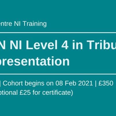Law Centre NI Training