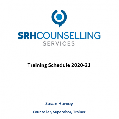 SRH Counselling Services new training schedule!