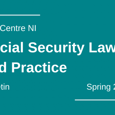 Social Security Law and Practice Bulletin - Spring 2021