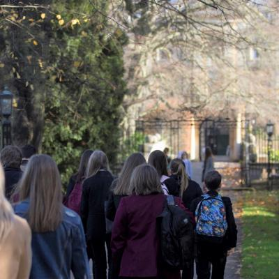 The Brilliant Club on a University tour with young people