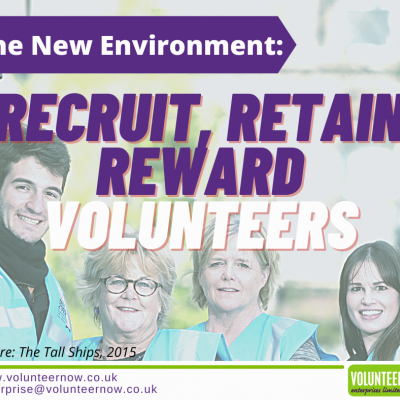 The New Environment: Recruit, Retain, Reward Volunteers