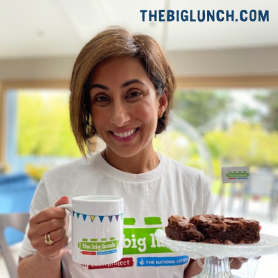 Saira Khan supports The Big Lunch encouraging neighbours to reconnect