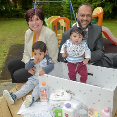 Barnardo's NI launches Baby Box Scheme