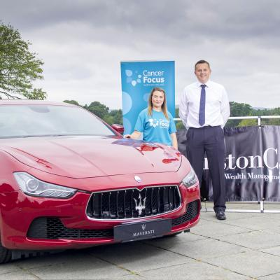 Chance to win a Maserati