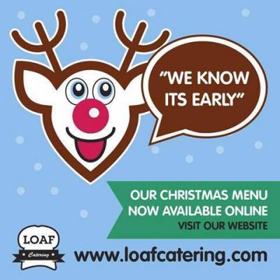 Loaf catering launch Christmas menu